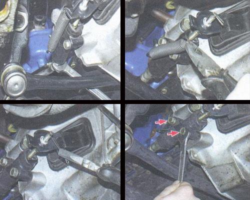 рабочий цилиндр сцепления ваз 2106 снятие и установка