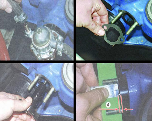 снятие и установка топливного насоса автомобиля ваз 2106