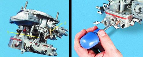 Ускорительный насос карбюратора ваз 2106 проверка подачи