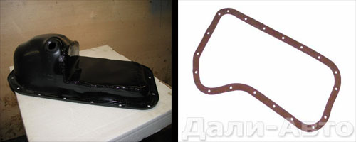 замена прокладки масляного картера на автомобиле ваз 2106