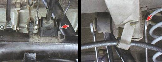 снятие и установка продольных штанг задней подвески ваз 2106