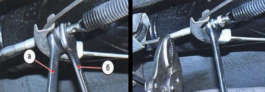 регулировка стояночного тормоза автомобиля ваз 2106