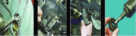 замена переднего амортизатора ваз 2106