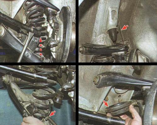 Как заменить переднюю пружину на ваз 2107 видео