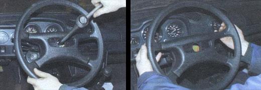 замена рулевого колеса ваз 2106
