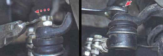 замена рулевых тяг ва 2106