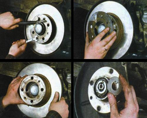 подшипник ступицы передних колес ваз 2106 замена смазки