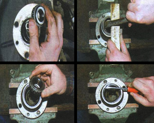 замена смазки в подшипниках ступиц