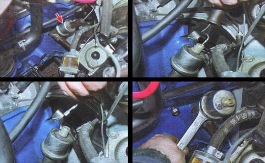 датчик давления масла автомобиль ваз 2106