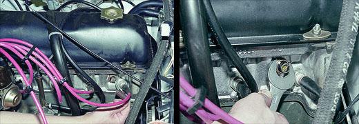 Датчики двигателя на ваз 2106