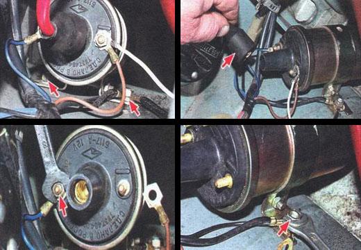 Электрическая схема замка зажигания на ваз 2131.