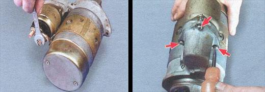 разборка стартера ваз 2106 дефектовка и сборка