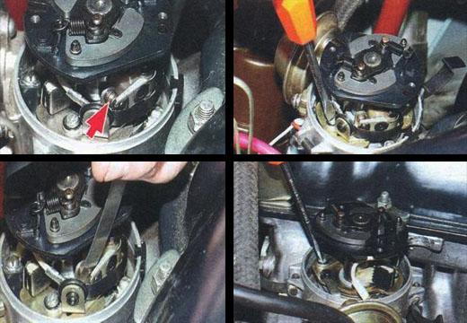 регулировка контактов автомобиля ваз 2106