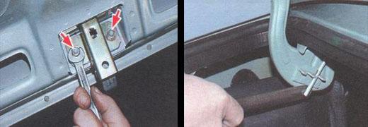 регулировка замка крышки багажника ваз 2106