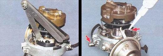 ремонт распределителя зажигания автомобиля ваз 2106
