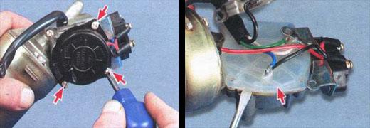 замена шестерни моторедуктора ваз 2106