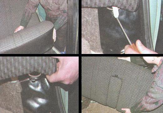 задние сиденья ваз 2106