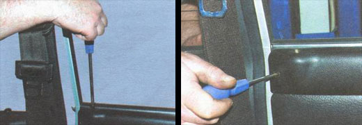 замена форточек передних дверей автомобиль ваз 2106