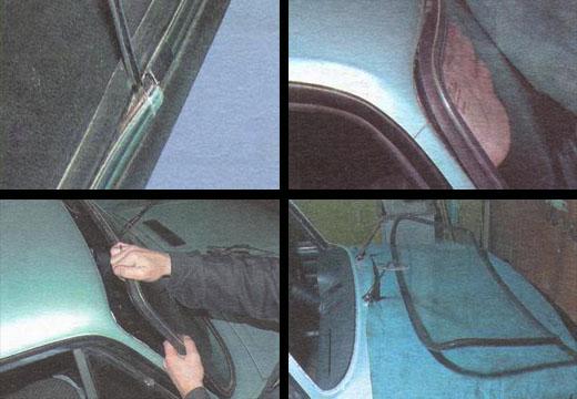 замена переднего лобового стекла ваз 2106
