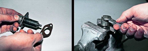 Натяжитель цепи ваз. своими руками