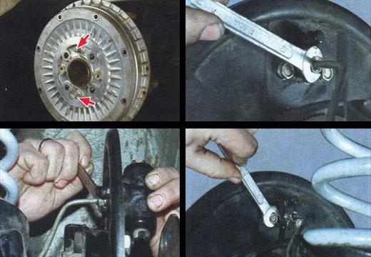 замена рабочего цилиндра заднего тормозного механизма ваз 2106