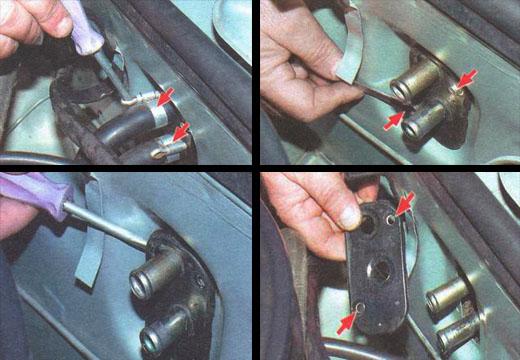 снятие и установка радиатора отопителя ваз 2106