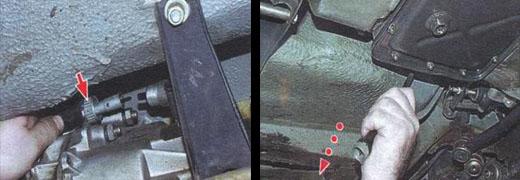замена вала привода спидометра ваз 2106