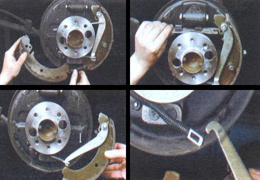 Замена задних тормозных колодок своими руками на ваз 2107 58