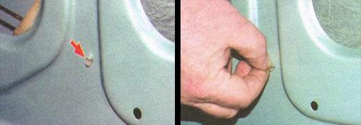 замена наружной ручки и замка передней двери ваз 2106