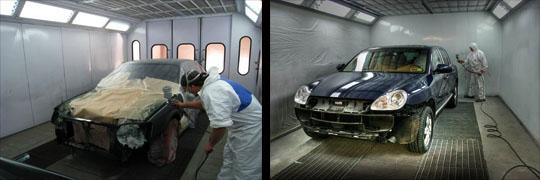 изготовление покрасочной камеры при покраске автомобиля в домашних условиях