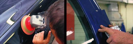проверка качества покраски автомобиля