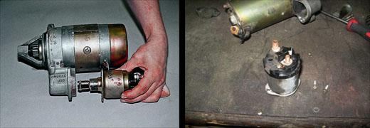 ваз 2106 стартер ремонт втягивающего #7