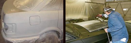 что делать если после покраски автомобиля остались царапины от шлифовальных инструментов