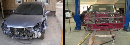 ремонт кузова ваз 2106 электронагревом