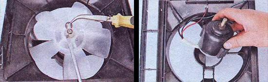 электродвигатель отопителя ваз 2107