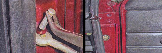 передние двери ваз 2107