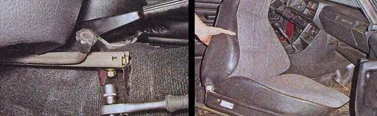передние сиденья ваз 2107