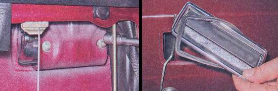 замена наружной ручки передней двери ваз 2107