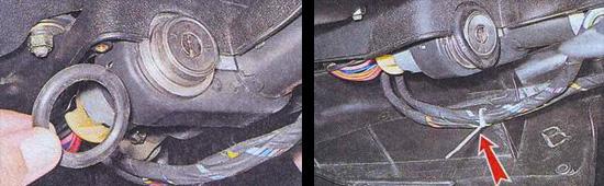 замена кожуха рулевого вала на автомобиле ваз 2107