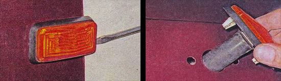 передний боковой поворотник ваз 2107