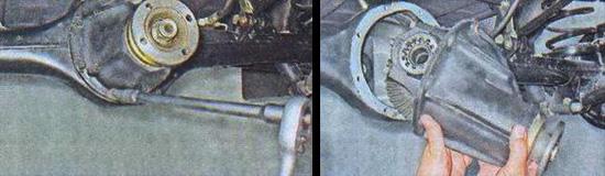 редуктор заднего моста ваз 2107