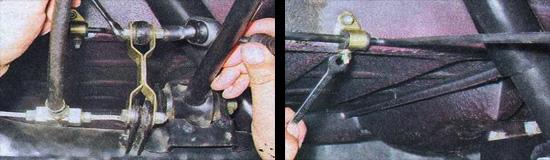 снятие регулятора давления тормозов ваз 2107