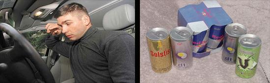 влияние энергетических напитков на водителя