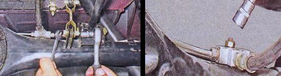 замена задних пружин ваз 2107