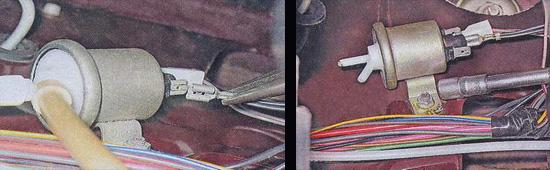 проверка и замена электропневмоклапана ваз 2107
