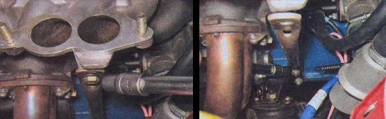 прокладка впускного коллектора ваз 2107