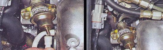 регулятор давления топлива ваз 2107