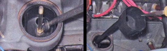 снятие и замена маслоотделителя ваз 2107