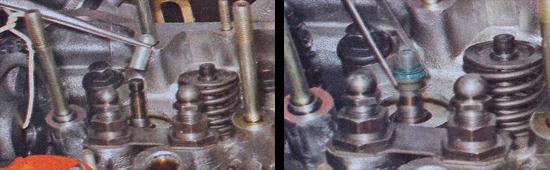 установка маслосъемных колпачков клапанов ваз 2107