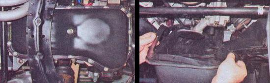 замена поддона картера двигателя ваз 2107